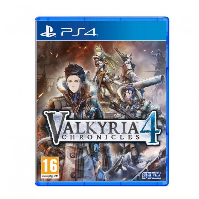 Valkyria Chronicles 4 Memoires Edition PS4