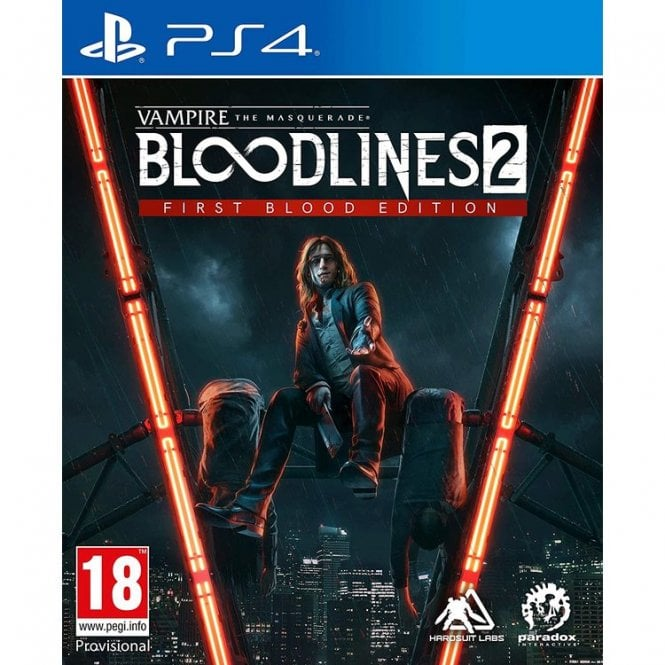 Vampire The Masquerade Bloodlines 2 PS4