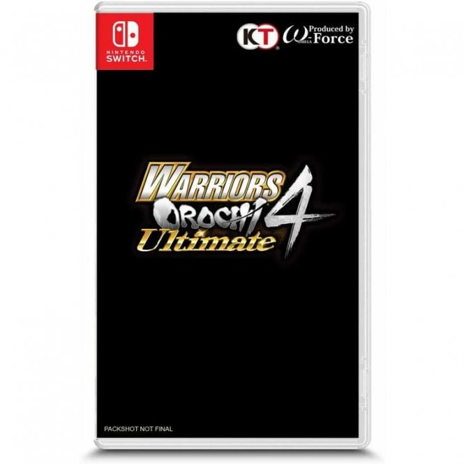 Warriors Orochi 4 Ultimate Switch