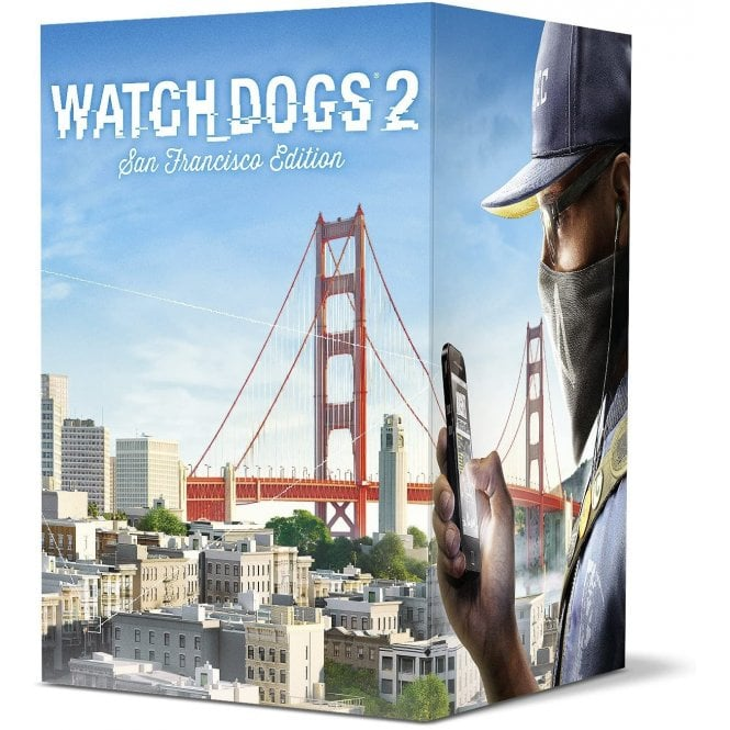Watch Dogs 2 San Francisco Collector`s Edition Xbox