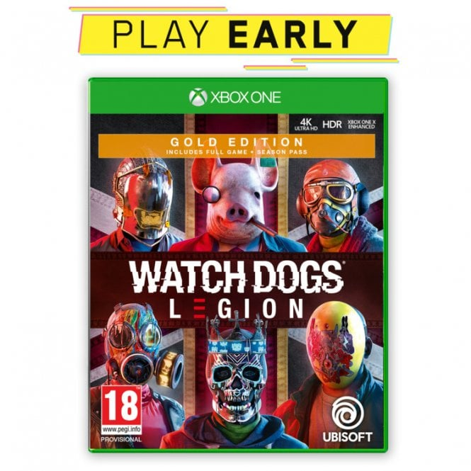 Watch Dogs Legion Gold Edition Xbox One