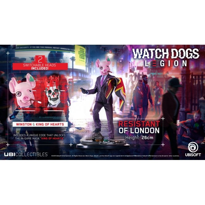Watch Dogs Legion Resistant Of London