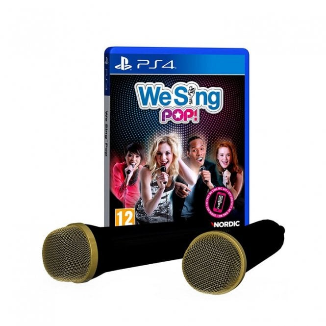 We Sing POP with 2 Mics PS4