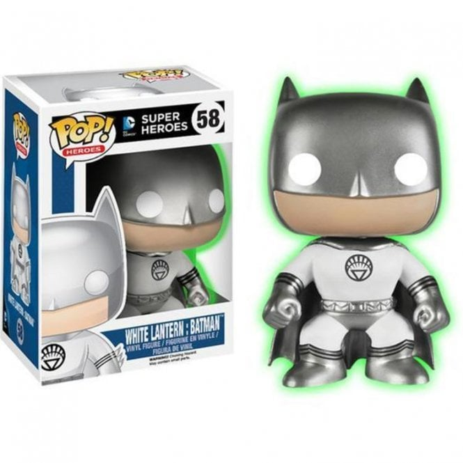 White Lantern Batman GITD Exclusive POP! Vinyl