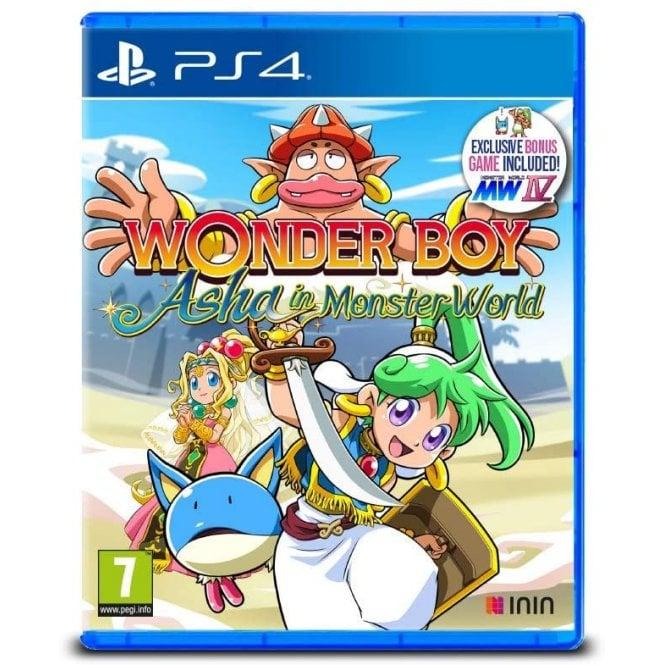 Wonder Boy Asha in Monster World PS4