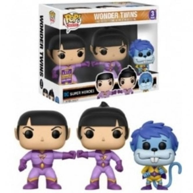 Wonder Twins Exclusive POP! Vinyl 3 Pack