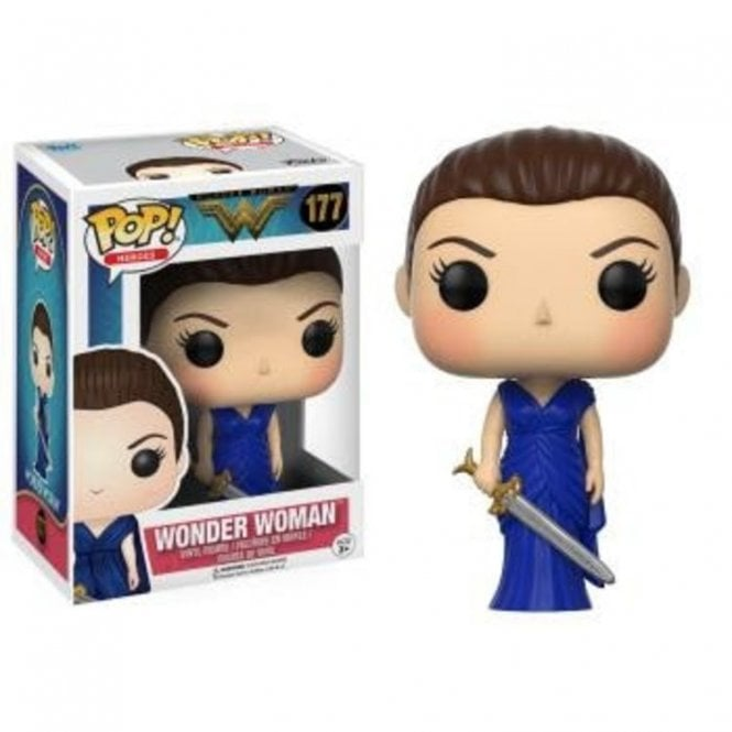 Wonder Woman in Blue Gown Exclusive POP! Vinyl