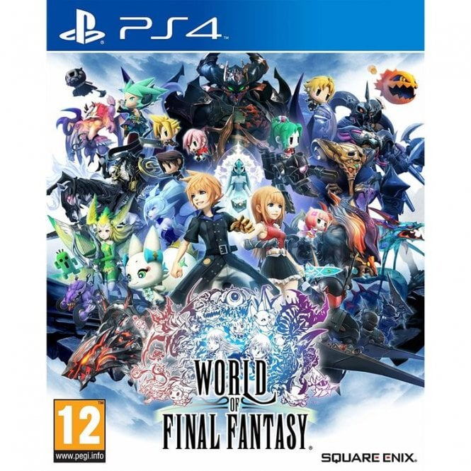 World of Final Fantasy Day One Edition PS4