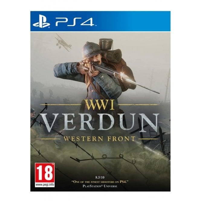WWI Verdun Western Front PS4