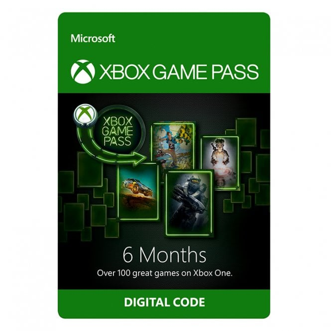 Xbox Game Pass 6 Months Subscription