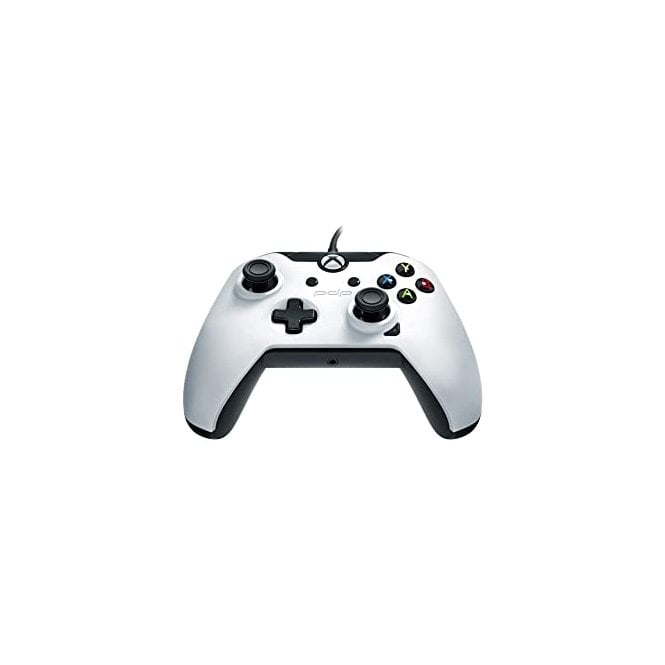 Xbox One White Wired Controller