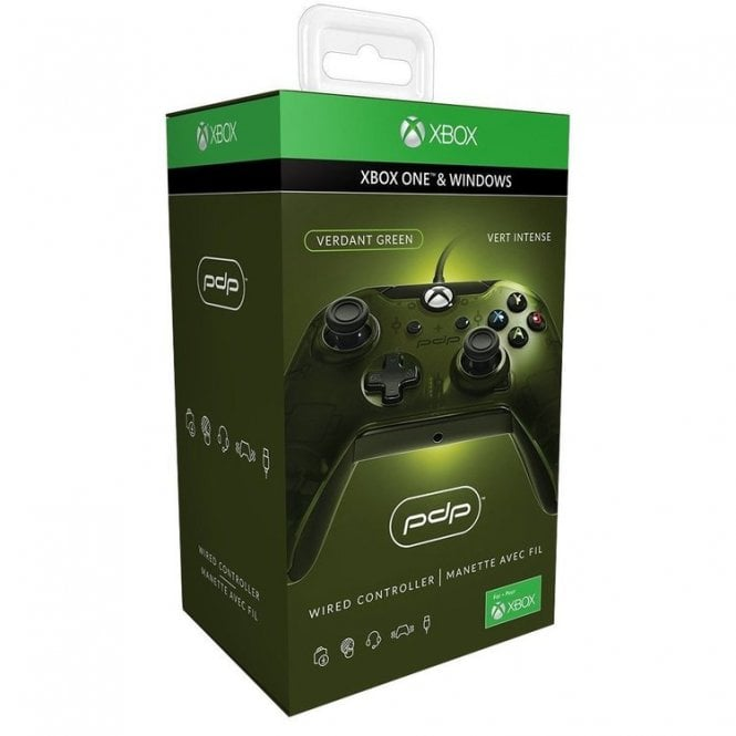 Xbox One Wired Controller Green