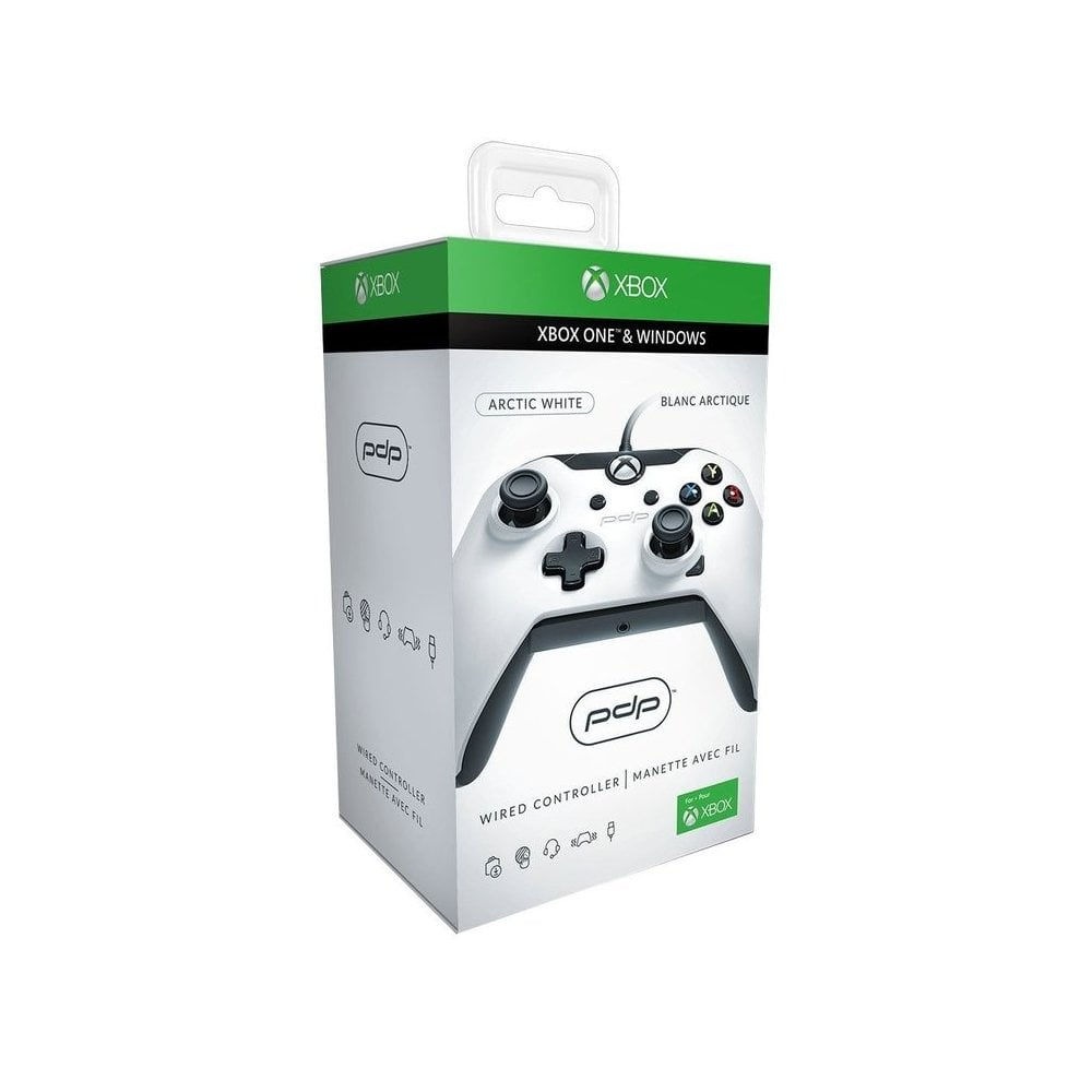 Xbox One Wired Controller White - Gaming from Gamersheek