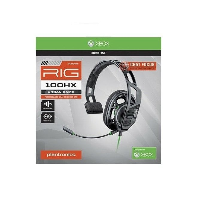 Xbox RIG 100 Black Gaming Headset