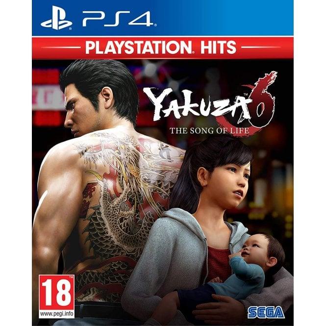 Yakuza 6: The Song of Life Playstation Hits