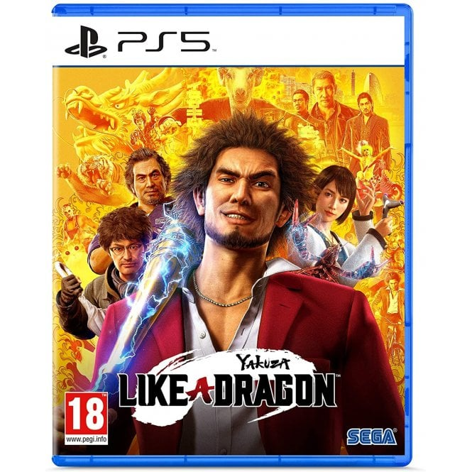 Yakuza 7 Like a Dragon PS5