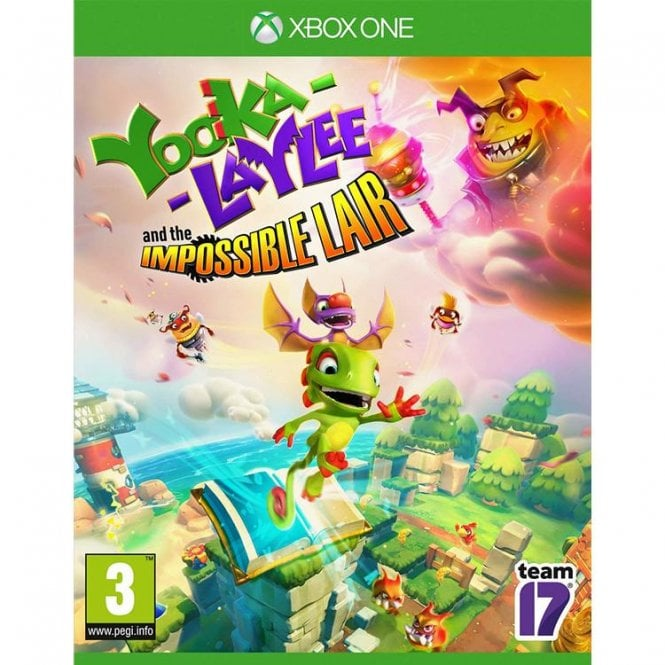 Yooka Laylee Impossible Lair Xbox One