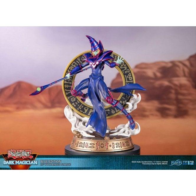 Yu-Gi-Oh! Dark Magician Blue Version PVC Statue