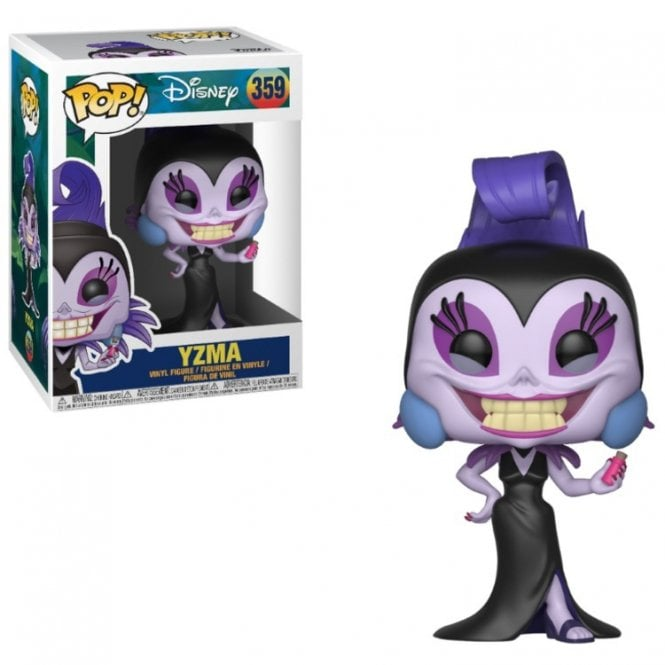 Yzma POP! Vinyl with Chase