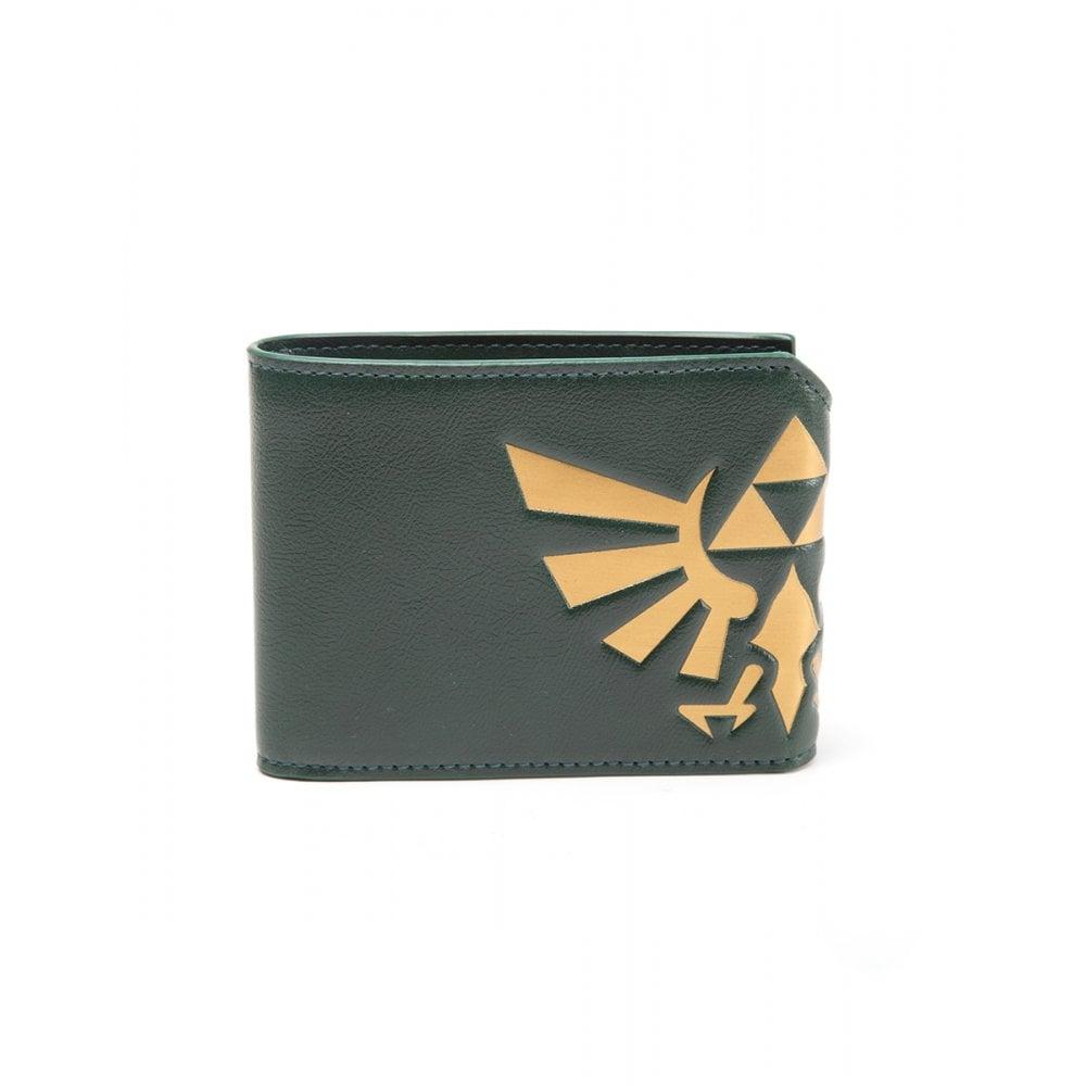 Zelda Hyrule Crest Fold Over Wallet